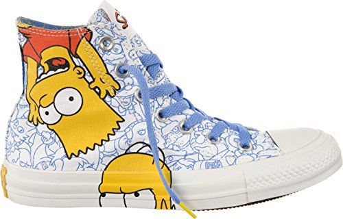 Converse AS Simpson Hi Can White Multi 38 - http://on-line-kaufen.de/converse/38-eu-converse-chucks-simpsons-ct-hi-141391-white