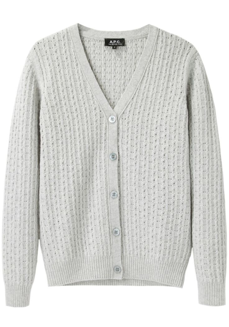 Ajoure Cable Cardigan