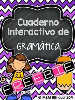 Looking for a few sample pages of my Spanish Interactive Grammar Notebook? Look no further!!Engaging interactive grammar pages perfect for back to school or any time of the year! This file includes a few sample pages of the interactive journal PLUS photographs of my own interactive journal to use as a SAMPLE!!!!