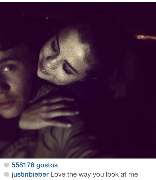 Selena and Justin Bieber