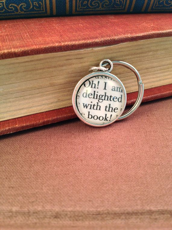84 best intriguing northanger abbey images on pinterest period jane austen northanger abbey antiqued silver book page literature keychain key ring book quote oh i ccuart Images