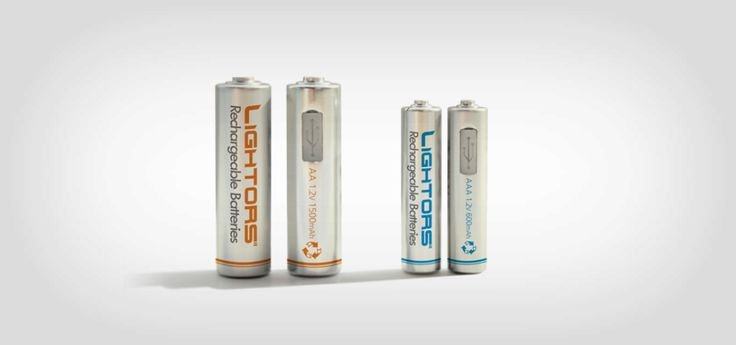 Lightors Batteries Can Be Charged Using a Micro-USB Cable