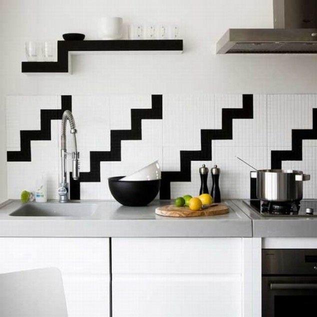 21 best Creative Kitchen Tile Backsplashes images on Pinterest