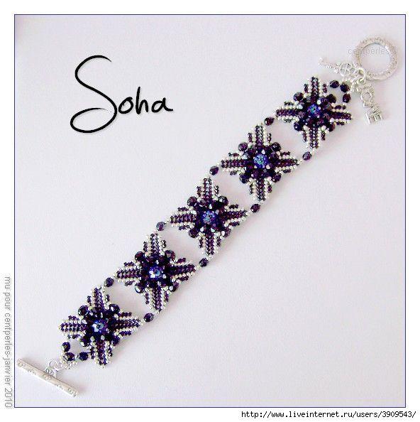 250 best Beaded bracelet patterns images on Pinterest Bead