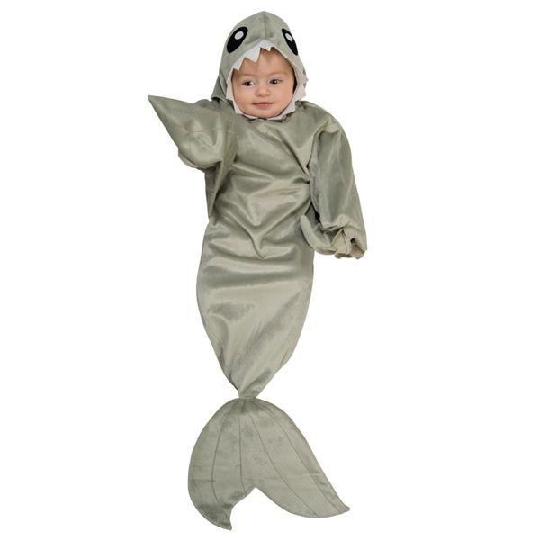 Haai kostuum baby