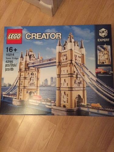 Lego #creator tower #bridge 10214 - (new/sealed) london set 4287 #pieces land mar,  View more on the LINK: http://www.zeppy.io/product/gb/2/282311977517/