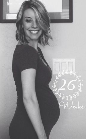 26 Weeks Pregnant, LoverlyBlonde blog