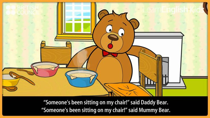 Goldilocks and the three bears - Kids Stories - LearnEnglish Kids British Council
