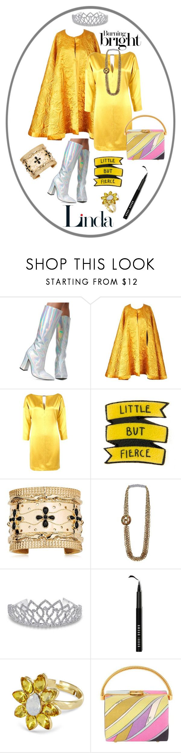 """""""Linda Ramone"""" by klcx13 ❤ liked on Polyvore featuring Current Mood, Yves Saint Laurent, KaufmanFranco, Aurélie Bidermann, Chanel, Bling Jewelry, Bobbi Brown Cosmetics, Johnny Loves Rosie and Emilio Pucci"""