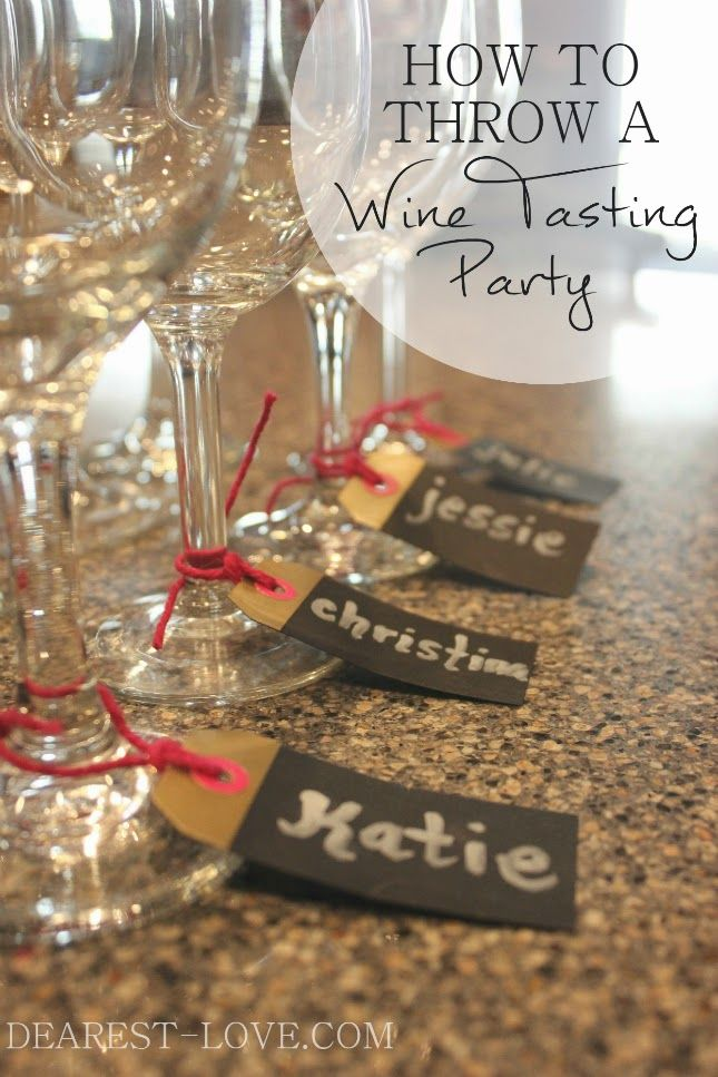 Last weekend, I had a few friends over to partake in a little wine tasting party! I've never thrown a wine-tasting party until now, but it's been on my list of parties to throw for a while. In high school and early college I used to have an annual cookie swap party, but I think …