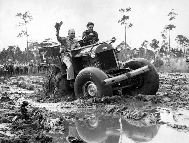 A history of the swamp buggy way back when pinterest for Motor vehicle naples fl