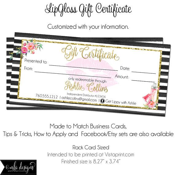 25  best ideas about gift certificates on pinterest