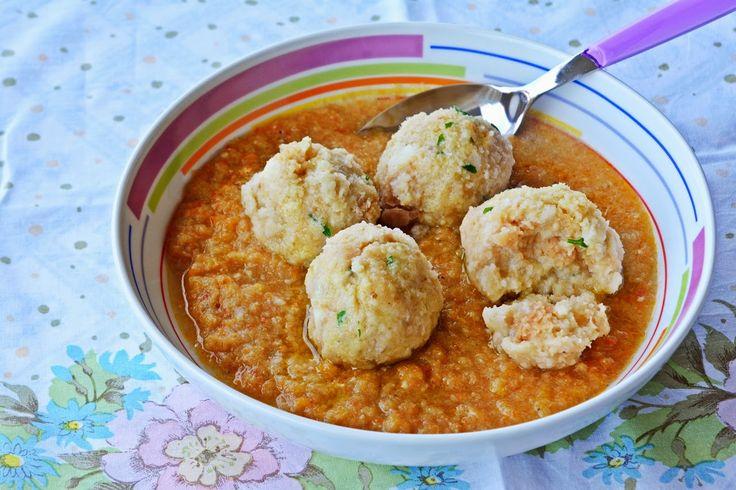 la cucina per principianti ma anche altro zuppa di canederli al sapore
