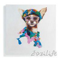 Кошка картина маслом На Холсте Настенные Панно Картины Для Гостиной номер Wall Art милая собака plattle нож современной абстрактной ручной окрашенные