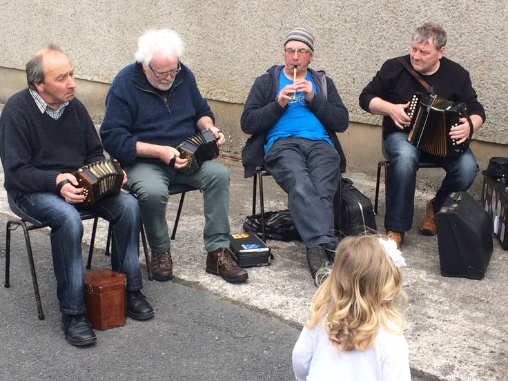 The squeezebox section with a rogue whistler!! Armagh County Fleadh 2015 - Portmor - Blackwatertown