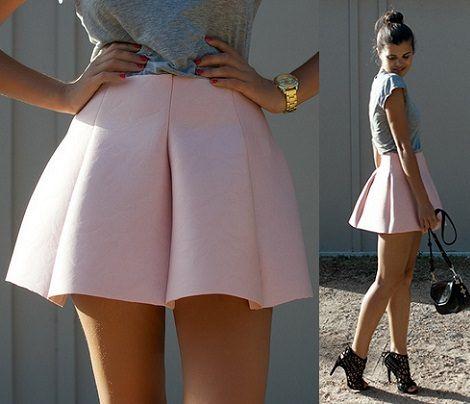 DIY falda de primavera si yo me hiciera esta falda.. la complementaria con una tela de encaje por arriba! *-*
