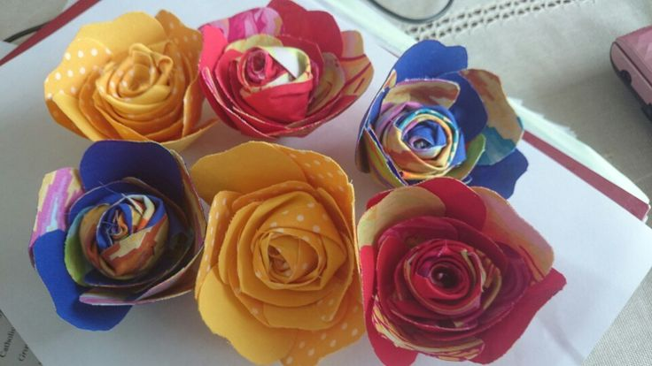 Hand made flowers