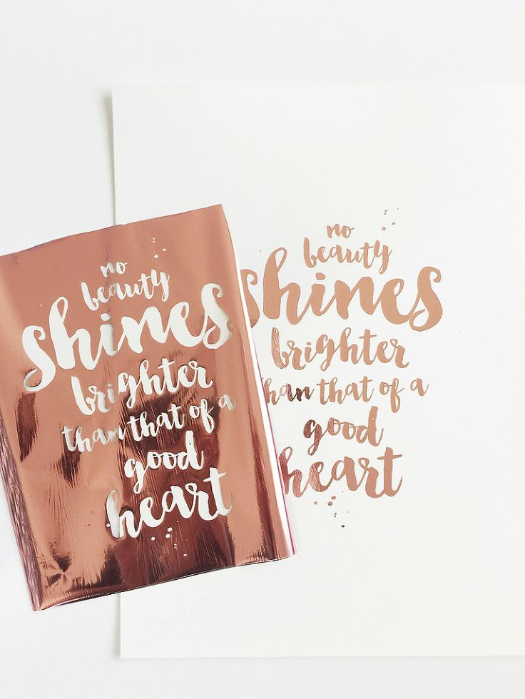 DIY Gold Foil Art Prints + Free Download! >> Maggie Holmes Design