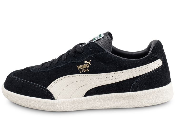 Puma Liga Suede Noire Baskets/Tennis Homme