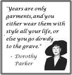 aging - Dorothy Parker