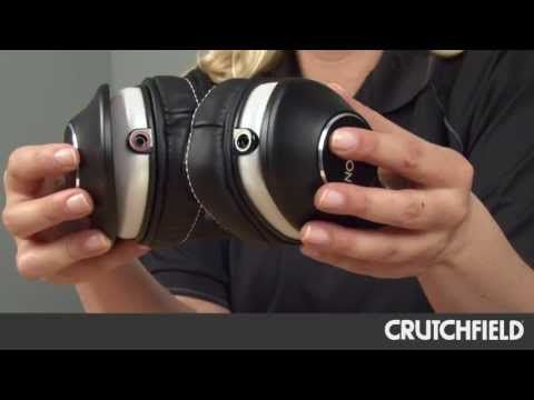 Denon Music Maniac AH-D600 Headphones | Crutchfield Video - YouTube #Denon #Headphones