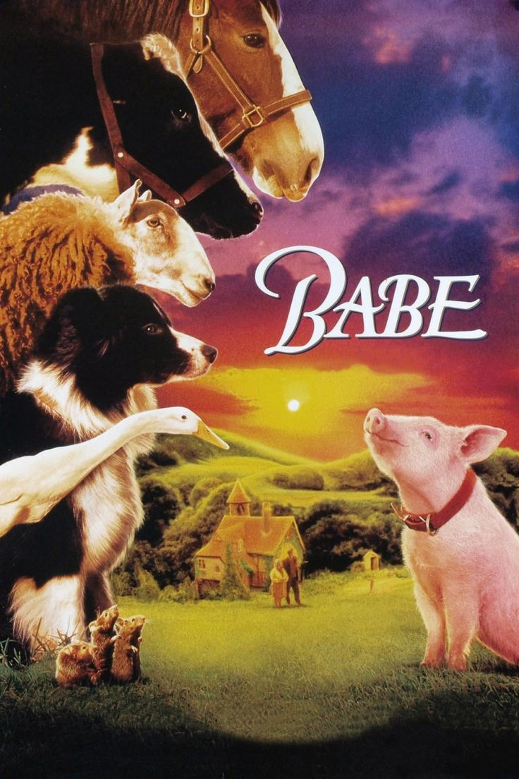 """Babe"" >1995 > Directed by: Chris Noonan > Children's Family / Fantasy / Animal Picture / Children's Fantasy / Adventure"