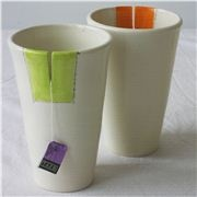 Love these tea tumblers with the slit for the tea bag! Nice retro feel $37