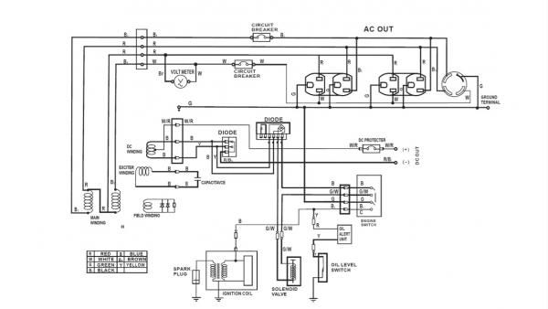 Wiring Diagram For 220 Volt Generator Plug | Portable ...