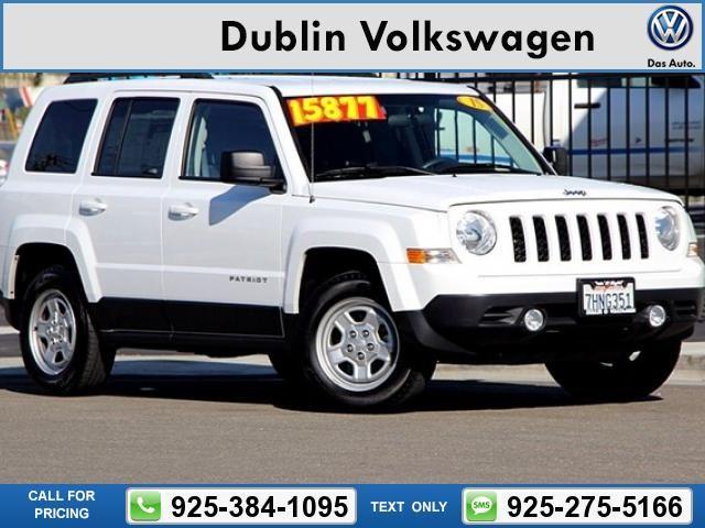 2015 Jeep Patriot  White Call for Price 28617 miles 925-384-1095  #Jeep #Patriot #used #cars #DublinVolkswagen #Dublin #CA #tapcars