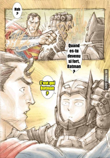 Quand es-tu devenu si fort, Batman ? #Saitama #OnePunchMan