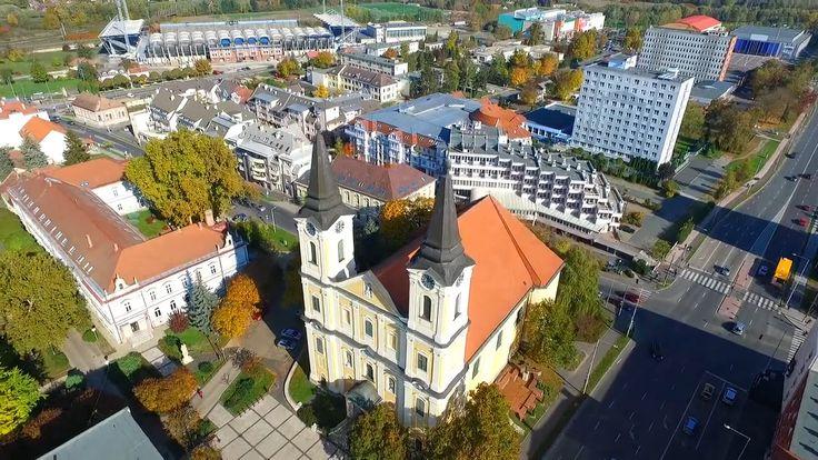 Autumn day in Zalaegerszeg