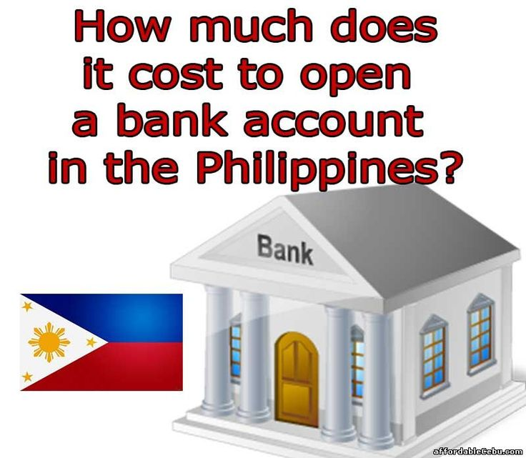"""Some of you might ask, """"How much will it cost to open a bank account here in the Philippines?"""". The cost depends on the bank where you open the account.  Read more: http://www.affordablecebu.com/load/banking/how_much_will_it_cost_initial_deposit_to_open_a_bank_account_in_the_philippines/13-1-0-29598"""
