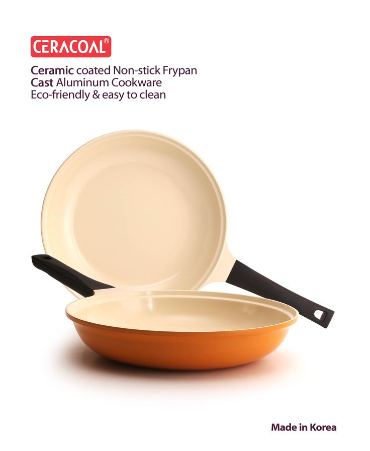 CERACOAL - Non-stick Frypan Eco-friendly & easy to clean