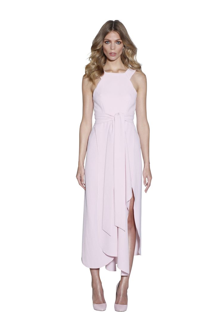 POWDER BLUSH TRAPEZE DRESS | #W #BYJOHNNY #LIMITEDEDITION #AUSTRALIANFASHION