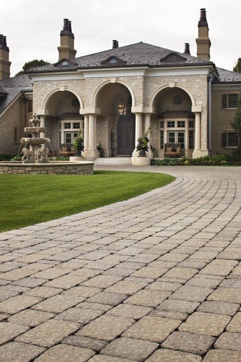 22 Best Images About Paver Driveways On Pinterest