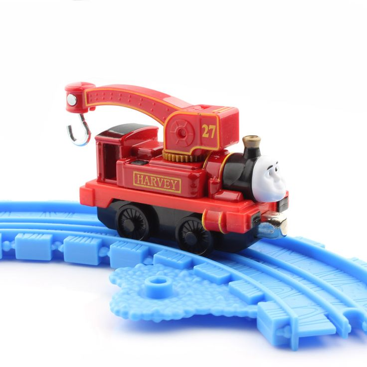 Harvey Boys Thomas and friends trains the tanks engine crane hook cars trackmaster die cast models magnetic thomas train toys