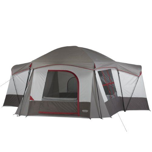 Wenzel Montreaux 10 Person Family Dome Tent (Grey/White) at /  sc 1 st  Pinterest & 49 best Family Camping Tents images on Pinterest | Family camping ...