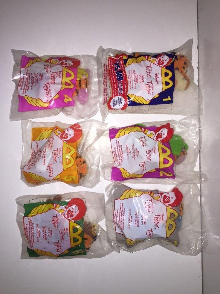 McDonalds Happy Meal Toys New 2000 Disney #Tigger Movie Complete Set 6 #Disney @ebay