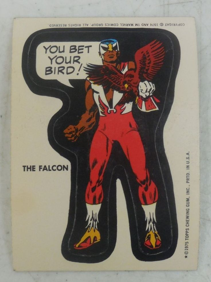1975 topps marvel comic book heroes trading sticker decal sticker card is in beautiful