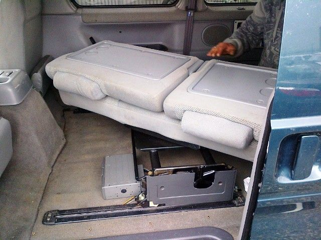 Bongo Swivelling bench seat - Northstar Conversions