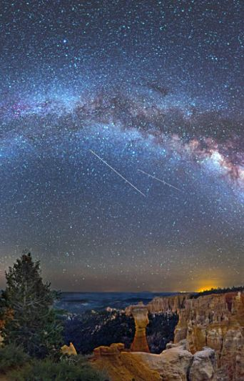 View star scapes over Bryce Canyon! The options for exploration around Bryce Canyon are seemingly endless. For a large part, this is wild and untamed land; getting off the beaten path and finding your own slice of unblemished nature isn't difficult.