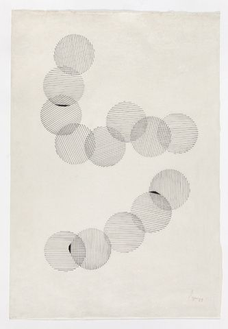 drawing, 1959 • lygia pape