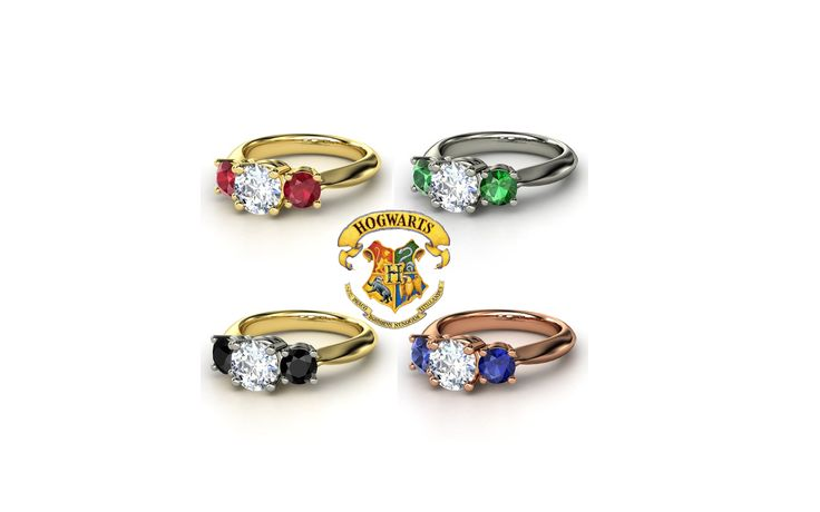 harry potter engagement rings i would even wear these in
