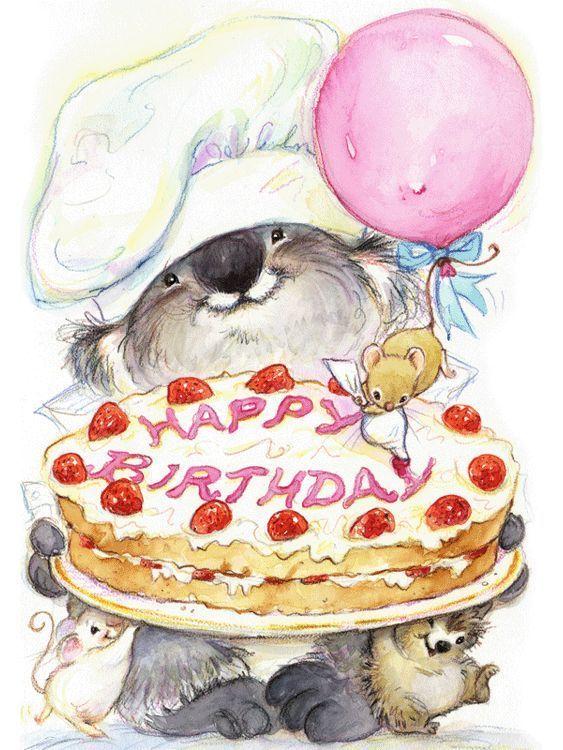 Цветами, картинки повару с днем рождения
