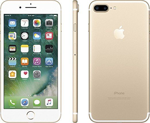 Apple iPhone 7 Plus Unlocked Phone 32 GB - US Version (Gold)