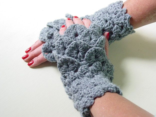 "Some cozy fingerless gloves that are subtly dragon-themed. | 18 Perfect Gifts For People Who Love ""Game Of Thrones"""