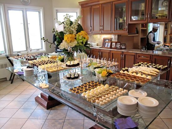 yael at culinary kosher shared wonderful pictures of an engagement party vort held at home. Black Bedroom Furniture Sets. Home Design Ideas