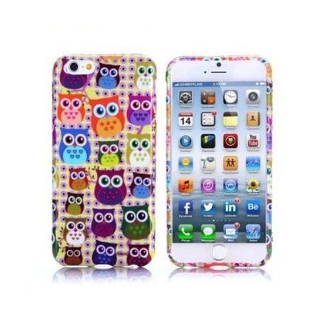 Coques / Protections iPhone 6 (4.7 pouces) - Coque de protection pour iPhone 6 4.7 pouces design Hibou - nemtytab.com