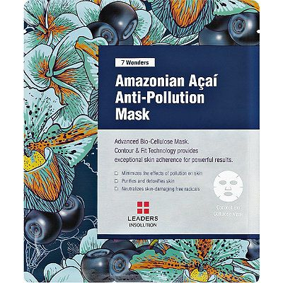 Leaders7 Wonders Amazonian Acai Anti-Pollution Mask