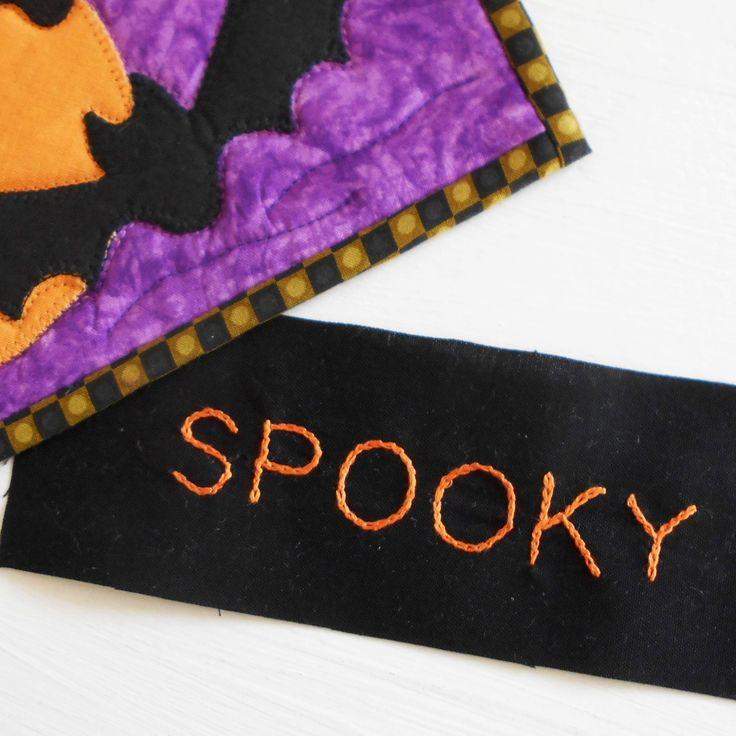 The Patchsmith: Transfer a Stitchery Design onto Dark Fabric